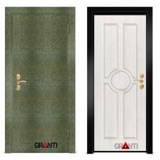 Входная металлическая Дверь МДФ - м 19.1 в квартиру