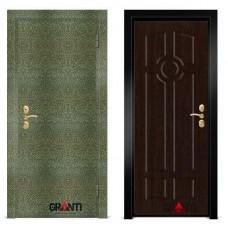 Входная металлическая Дверь МДФ - м 19.2 в коттедж