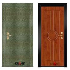 Входная металлическая Дверь МДФ - м 18.7 в коттедж