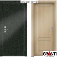 Входная металлическая Дверь МДФ - м 10.5 для загородного дома