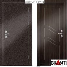 """Входная металлическая дверь с шумоизоляцией - Ш 12.4 - """"Гранти-Групп"""""""
