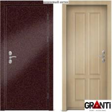 Входная металлическая Дверь МДФ - м 18.5 для загородного дома