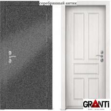 Входная металлическая Дверь МДФ - м 19 для загородного дома
