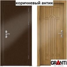 Входная металлическая Дверь МДФ - м 2.1 для загородного дома