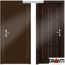 Входная металлическая Дверь МДФ - м 21.2 в коттедж