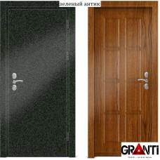 Входная металлическая Дверь МДФ - м 21.7 для загородного дома