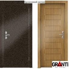 Входная металлическая Дверь МДФ - м 22.1 для загородного дома
