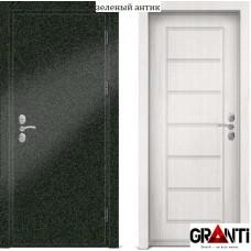 Входная металлическая Дверь МДФ - м 23 в квартиру