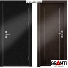 Входная металлическая Дверь МДФ - м 23.4 в коттедж