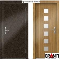 Входная металлическая Дверь МДФ - м 26.1 для загородного дома