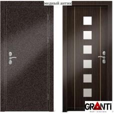 Входная металлическая Дверь МДФ - м 26.4 для загородного дома