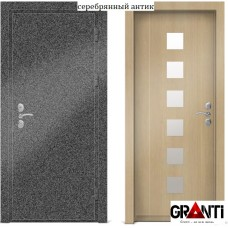 Входная металлическая Дверь МДФ - м 26.5 в коттедж