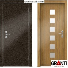 Входная металлическая Дверь МДФ - м 26-2.1 для загородного дома