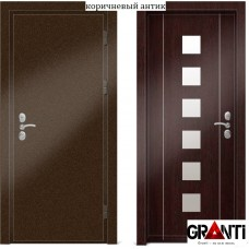 Входная металлическая Дверь МДФ - м 26-2.3 в коттедж