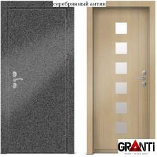 Входная металлическая Дверь МДФ - м 26-2.5 для загородного дома