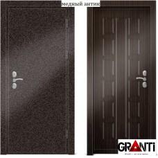 Входная металлическая Дверь МДФ - м 29.4 для загородного дома