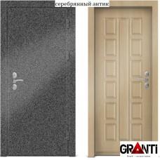 Входная металлическая Дверь МДФ - м 29.5 в коттедж