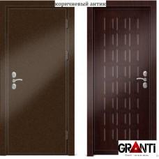 Входная металлическая Дверь МДФ - м 30.3 для загородного дома