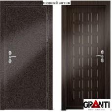 Входная металлическая Дверь МДФ - м 30.4 в коттедж