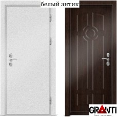 Входная металлическая Дверь МДФ - м 4.2 для загородного дома