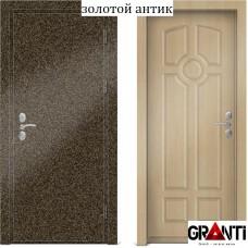 Входная металлическая Дверь МДФ - м 4.5 для загородного дома