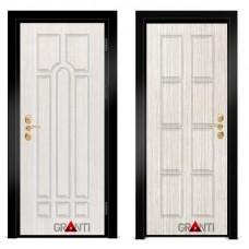 Входная металлическая дверь Венге 1.9 - цвет темный Венге