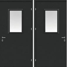 Дверь Противопожарная с стеклом №1