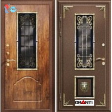 Дверь с порошковым напылением и терморазрывом №12