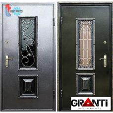 Дверь с порошковым напылением ковкой и терморазрывом №15